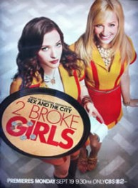 2 Broke Girls Season 1 DVD Box Set