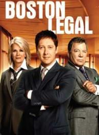 Boston Legal Seasons 1-5 DVD Box Set