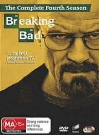 Breaking Bad Seasons 1-4 DVD Box Set
