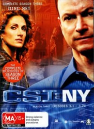 CSI: New York Season 8 DVD Box Set