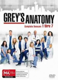 Grey's Anatomy Seasons 1-7 DVD Box Set