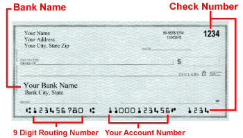 echeck to pay